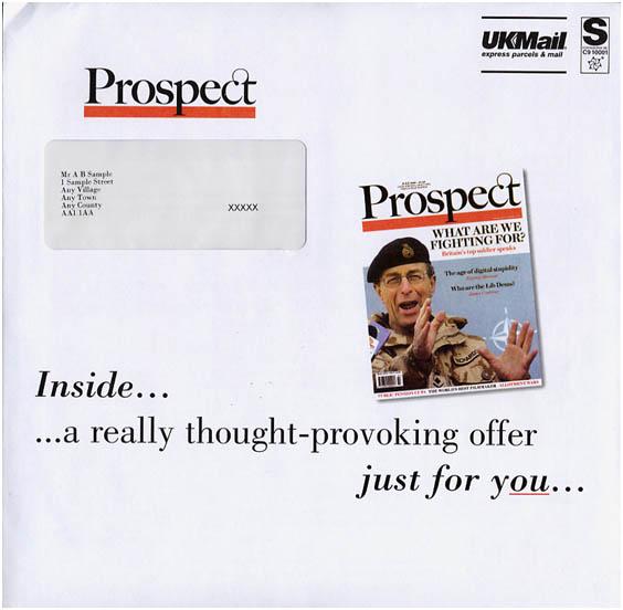 Primer učinkovite kuverte